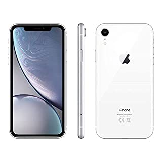 Apple iPhone XR, 128GB, White - For Sprint (Renewed)