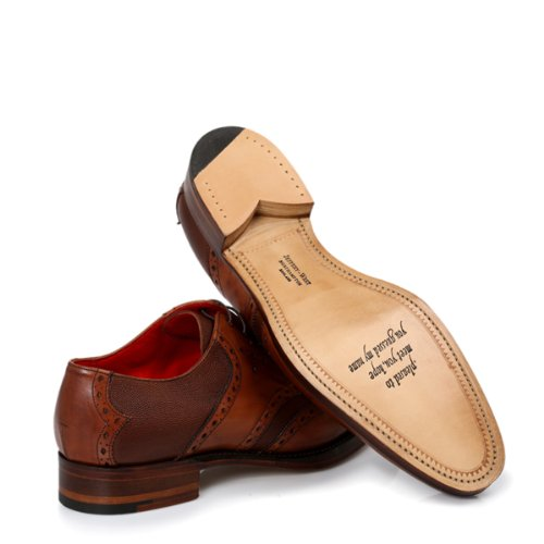 Jeffery West Mahogany Tobacco Lemmy Brogue