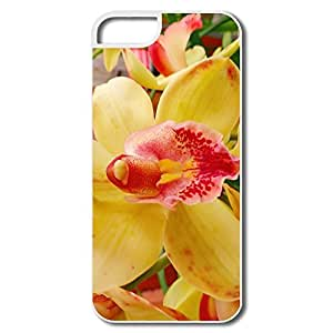 PTCY IPhone 5/5s Make Your Own Cool Orchid Flower
