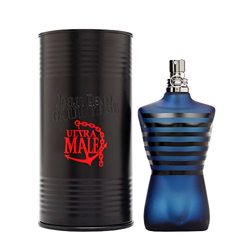 Ultra Male by Jean Paul Gaultier for Men 4.2 oz Eau de Toilette Intense Spray (The Best Male Fragrance)