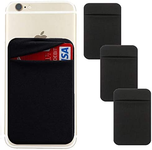 Mobile Phone Wallet Credit ID Card Holder Adhesive Pocket Sticker Wallet Case