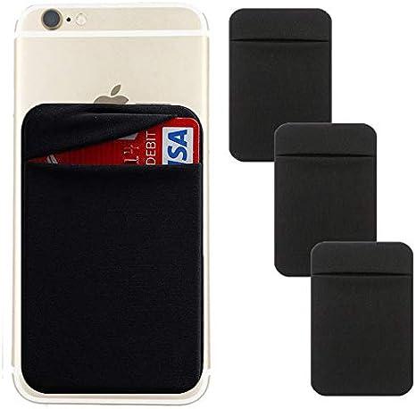 Amazon.com: Soporte de tarjeta para teléfono móvil [doble ...