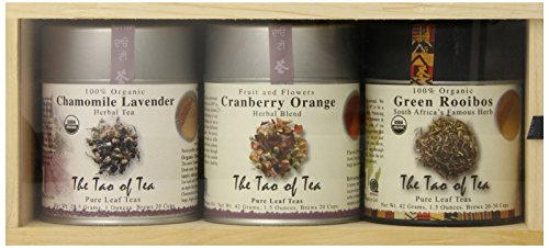 - The Tao of Tea Herbal Tea Sampler Cans, 3-Count Box
