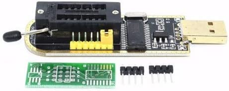 KIMME CH341A 24 25 Series EEPROM Flash BIOS USB Programmer with Software /& Driver