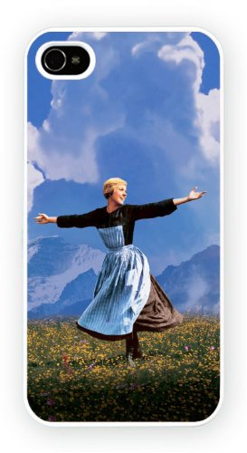 The Sound of Music Julie Andrews, iPhone 5 5S, Etui de téléphone mobile - encre brillant impression