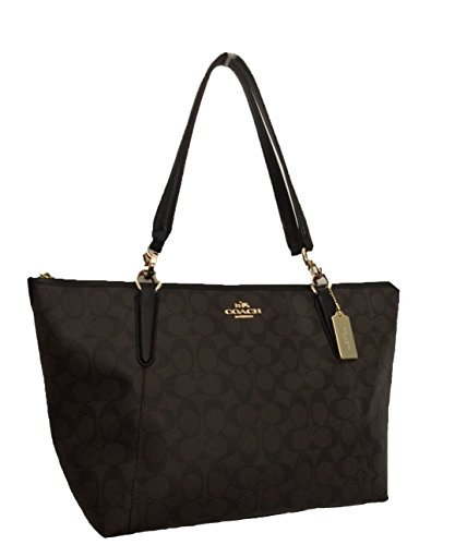 Coach Signature AVA Tote Purse Shoulder Bag Handbag