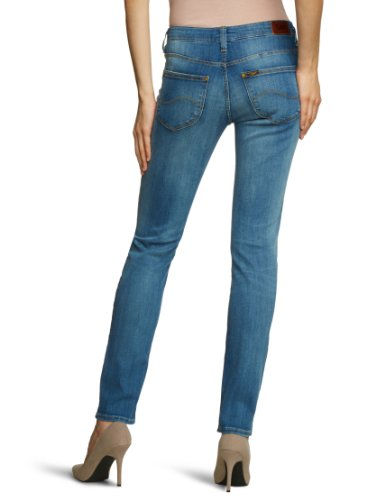 Lee - Vaqueros skinny / slim fit para mujer Azul (Blue Favourite)