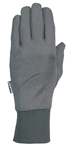 Seirus Deluxe Thermax Glove Liner  Black  Small Medium