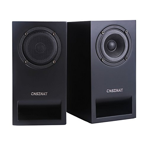 CNSZNAT P300 Passive Bookshelf Speakers ,3 Inch Desktop Spea