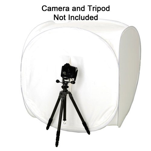 1045 Square Perfect 60 Inch Light Tent Photo Cube Softbox with 4 Colored Backgrounds For Product Photography by SQUARE PERFECT (Image #7)