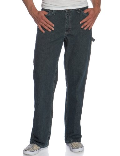 LEE Men's Loose-Fit Carpenter Jean, Quartz Stone, 33W x 30L