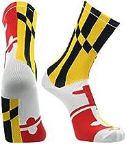 Maryland Flag Crew Socks