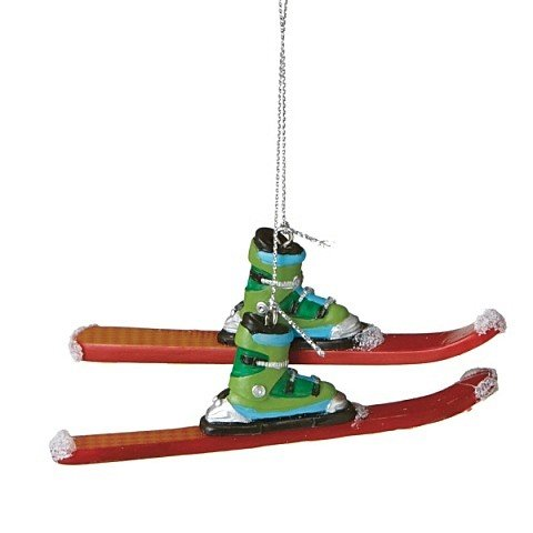Downhill Ski Ornament by Midwest-CBK