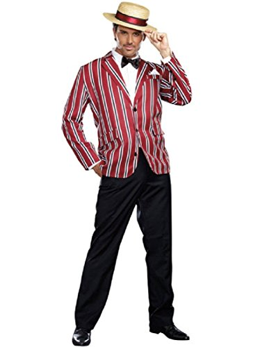 Dreamgirl Men's Good Time Charlie 1920s Style Costume, Multi, Large