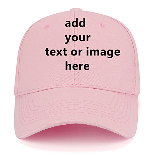 Custom Baseball Cap with Your Text,Personalized Adjustable Trucker Caps Casual Sun Peak Hat for Gifts