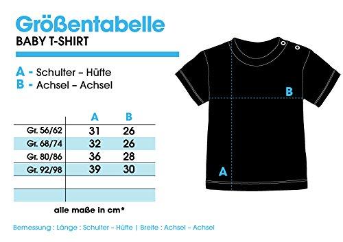 Wunschname und Nummer Baby T-Shirt Bio Baumwolle EZYshirt/® WM /& EM Deutschland Shirt M 03 WM Sternchen