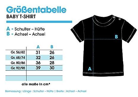 EZYshirt® Papa Wars Bio Baumwolle Baby T-Shirt Longsleeve