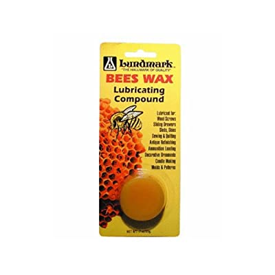 Lundmark Bees Wax Lubricating Compound Carded 0.7 Oz by Lundmark Wax