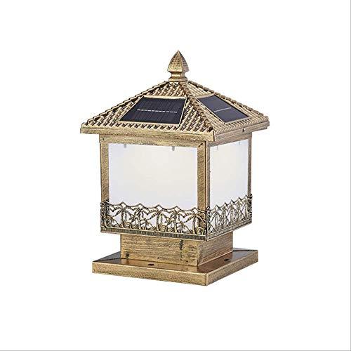 Nueva Lámpara De Pared Para Exteriores, Impermeable Simple, Súper Brillante, Vista De Balcón, Luz De Pilar Solar