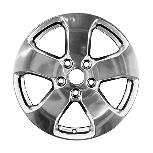 Multiple Manufactures ALY09106U80 Silver Wheel with Polished and Meets All Federal Motor Safety Standards (18 x 8. inches /5 x 127 mm, 56 mm Offset)