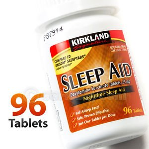 Kirkland Signature Nighttime Sleep Aid 25mg