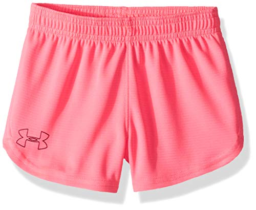 (Under Armour Girls' Toddler Light It up Short, mojo Pink, 3T )