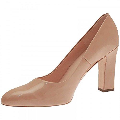 Heel Patent Celina Peter Beige Kaiser Shoe Court Block tTBwxfx1qp
