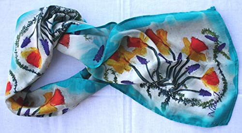 Nina J Design Limited Edition Silk Scarf