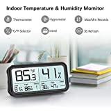 BFOUR Indoor Hygrometer Thermometer 2020 Upgraded
