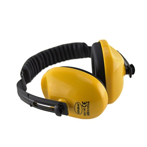 Titus Economy Series Earmuffs - Yellow 21 NRR Rated - Hearing - A-z Designer List Brands