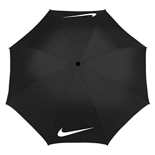 Nike Windproof-Regenschirm Golf - schwarz / weiß schwarz / weiß