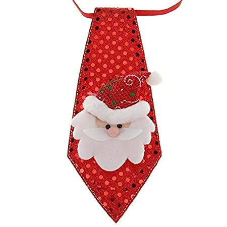 ADSIKOOJF Navidad Año Nuevo Corbata Accesorios de Fiesta Niños ...