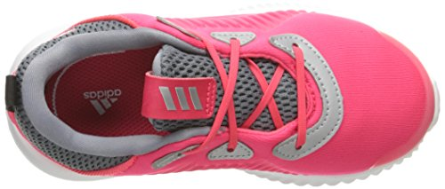 adidas Kids' Alphabounce Sneaker, Shock Red/White/Tech Grey Fabric, 6 M US Infant by adidas (Image #8)