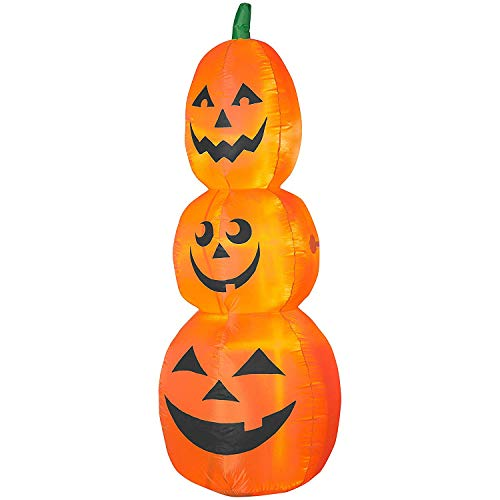 Outdoor Lighted Jack O Lanterns in US - 2