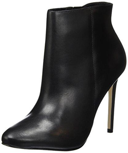 Buffalo London Zs 6172-16 Nappa, Zapatillas De Estar por Casa para Mujer Negro