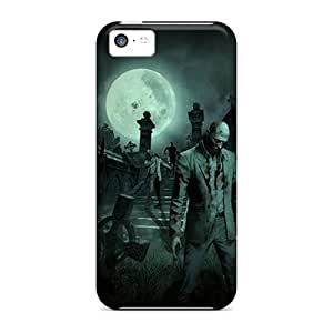 LJF phone case Hot ZgzBgES8421rUXUA Case Cover Protector For ipod touch 5- Zombie