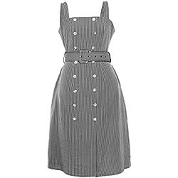 Snowlily Dress for Women,Summer Fashion Sling Skirt Trimmed Bag DressSolid Color Plus Size Maxi Dress Gray