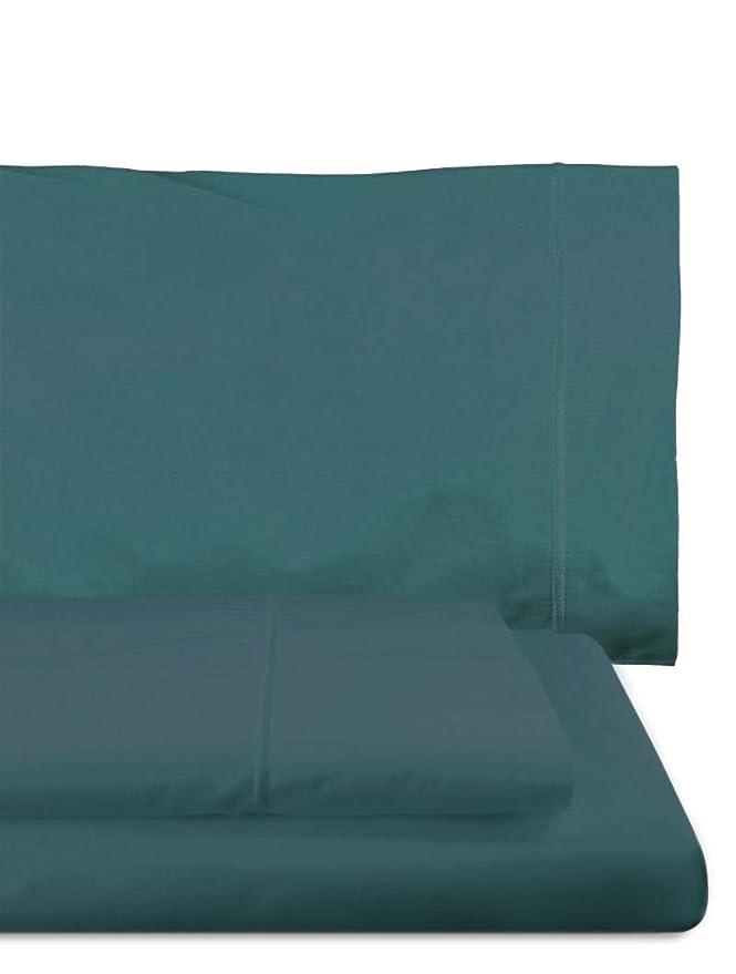 Home Royal - Juego de sábanas compuesto por encimera, 280 x 285 cm, bajera, 280 x 280 cm, 2 fundas para almohada, 45 x 110 cm, color platino