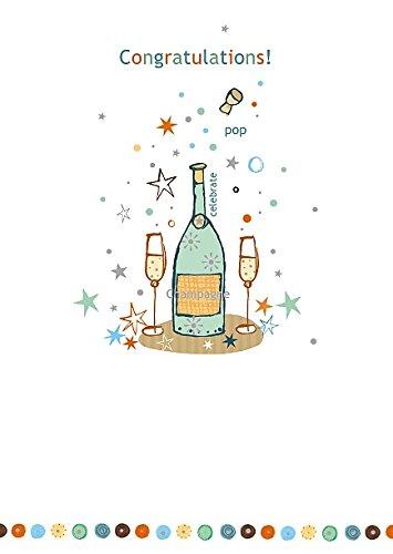 Felicidades - Tarjeta de felicitaciones por carta blanca ...