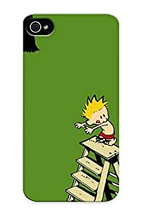 3634d451119 Cover Case - Calvin And Hobbes Protective Case Compatibel With Iphone 4/4s