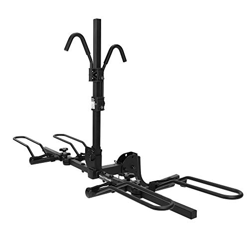 Hollywood Racks HR1000 Sport Rider 2-Bike Platform Style Hitch Mount Rack (1.25 and 2-Inch Receiver) ()