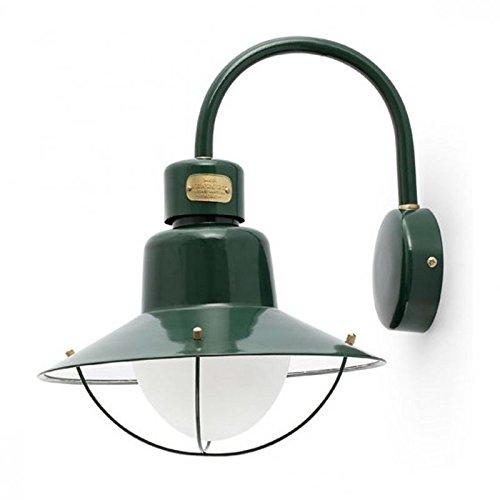 Bordeaux Lamp - Wellindal Newport Bordeaux Wall Lamp 1Xe27 60W Green