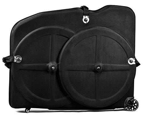 "Hepburn's EVA Bike Case for 26""/27.5""/29""Mountain Road Bicycle Travel Transport Case Black"