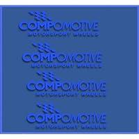 Ecoshirt GN-6WY6-KGYX Pegatinas Compomotive Wheels Dr1096 Vinilo Adesivi