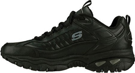 Energy Men's Shoe After Burn Skechers Black vYOqCO5