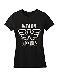 Waylon Jennings - Womens Est. T-Shirt