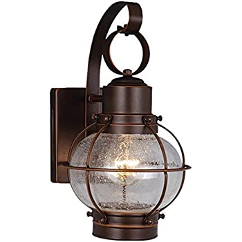 Vaxcel OW21861BBZ Chatham 7-Inch Outdoor Wall Light