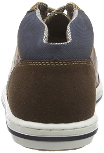 Rieker19042 - zapatillas deportivas altas Hombre Marrón - Braun (cigar/nut/chalk/pazifik / 27)