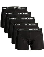 JACK & JONES Set van 5 boxershorts voor heren, gemengde ondergoed, multipack