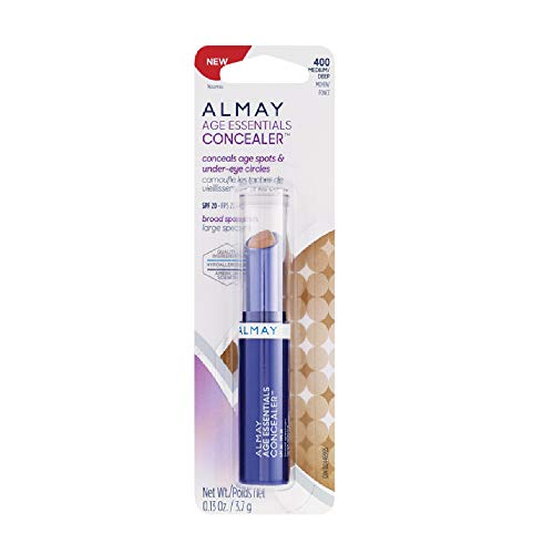 ONLY 1 IN PACK Almay Age Essentials SPF 20 Concealer, 400 Medium Deep